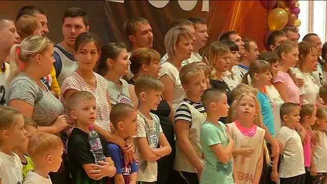 Самые спортивные семьи ЕВРАЗ ЗСМК